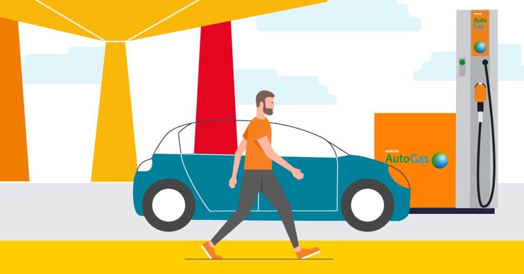 Consigue ahora 300€ en Repsol Autogas