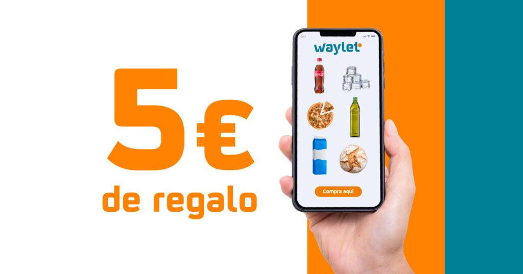 5€ de regalo en tu próximo pedido en la Tienda Online Repsol